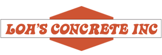 Loa's Concrete Inc Footer Logo